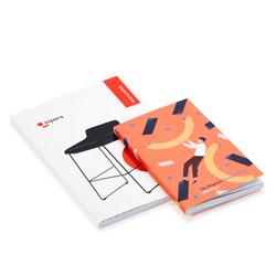 Sewn bound diaries