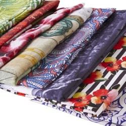 Wykończone tkaniny naturalne