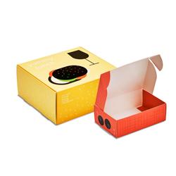 Cajas alimentarias con lengüeta