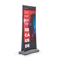 Roll-up Outdoor-bi