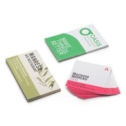 Custom business cards uk pixartprinting folded business cards promo reheart Gallery