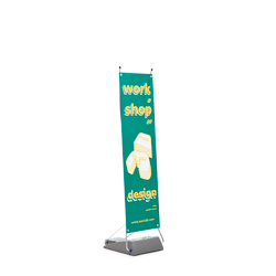 Expobanner Outdoor Dimensions 45x155 cm