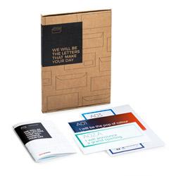 Kit d'échantillons enveloppes