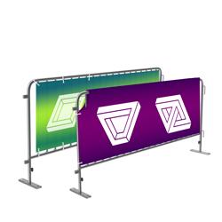 Banderoller för barriärstaket