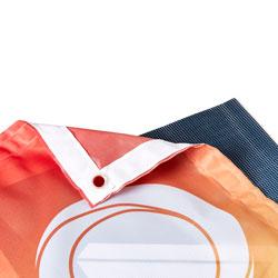 Vindtåliga banderoller