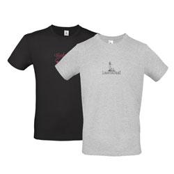 T-shirt homem B&C