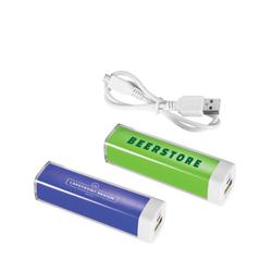 Batería externa de plástico 2200 mAh Flash