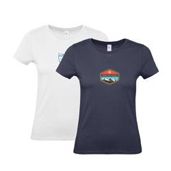 T-shirt mulher B&C