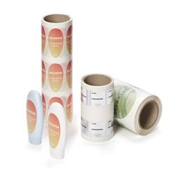 Pegatinas para productos de cosmética y cuidado personal