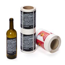 Wein- und Spirituosenetiketten