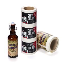 Etiketter för öl