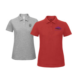 Poloshirts Damen B&C