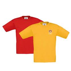 T-shirt criança B&C