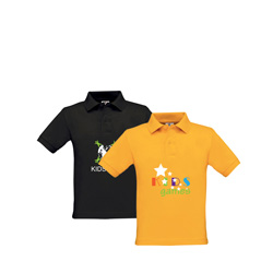 B&C Children's Polo Shirts