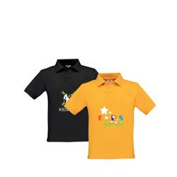 Poloshirts Kinder B&C