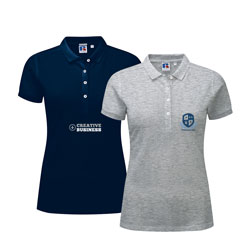 Russell Women's Polo Shirts