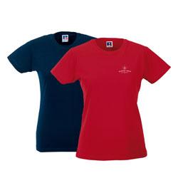T-shirt mulher Russell