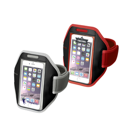 Smartphone touchscreen arm strap Gofax